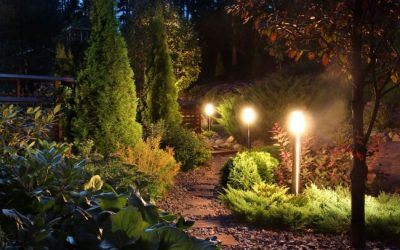 5 Benefits of Landscape Lighting